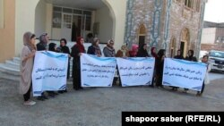 آرشیف/ خبرنگاران زن در هرات