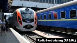Електропоїзд Hyundai, Київ, 29 травня 2012 року