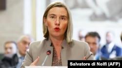 Shefja e diplomacisë evropiane, Federica Mogherini