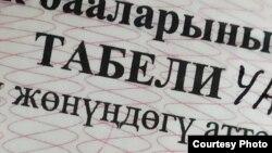 Ошибка в аттестате - вместо буквы «Н» отпечатана буква «Ң».