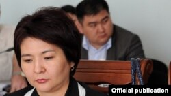 Feruza Jamasheva, the new chairwoman of Kyrgyzstan's Supreme Court
