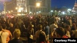 Мәскәүдә Навальныйны яклаучылар һәи полиция