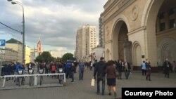 Москва. Добрынинский метросу.