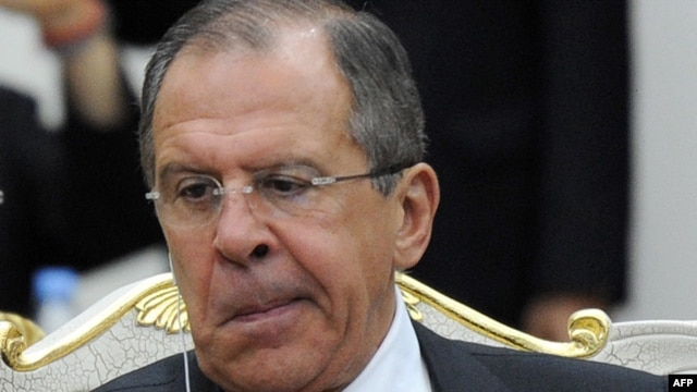 Russian Foreign Minister Sergei Lavrov: 'An attempt to meddle in our internal affairs'