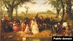 Джон Рычы, «Летні дзень у Гайд-Парку» (1858)