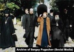Serghei Pugaciov și Ludmila Putina