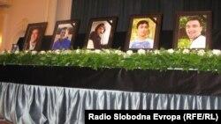 Komemoracija petorici mladih padobranaca, Banjaluka, 25. maj 2012.