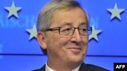 Глава Еврогруппы, премьер-министр Люксембурга Жан-Клод Юнкер