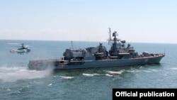Український фригат «Гетьман Сагайдачний»