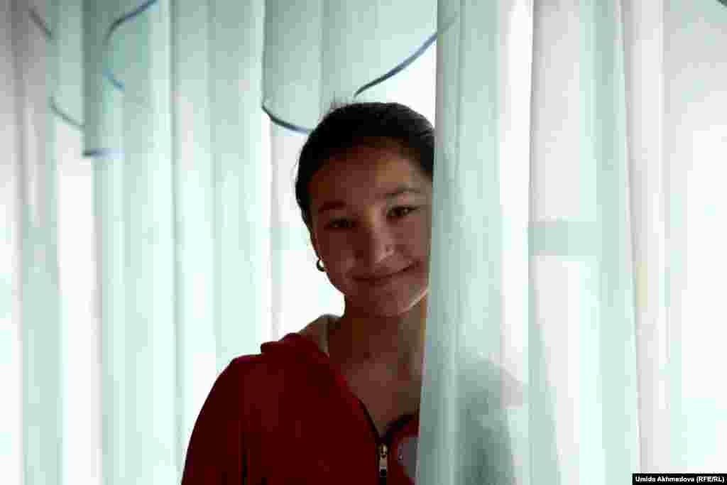 17 жастағы паркенттік Мәдина