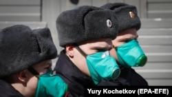 Московские полицейские, 9 апреля 2020