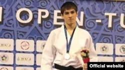 Tajikistan/Tunisia, tajik judist Somon Mahmadbekov won gold medal in Africa Open, 24April2017