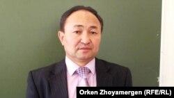 Доцент Евразийского национального университета китаист Беккожа Жылкыбекулы.