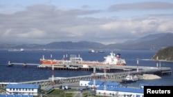 ВСТО выходит к порту Козьмино в Находке