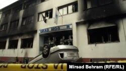 Ilustracija nereda, Mostar 7.februar 2014.