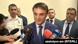 Начальник Полиции Армении Валерий Осипян