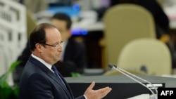 Франсоа Оланд, претседател на Франција