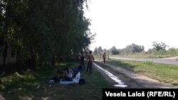 Migranto u Subotici