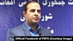یوسف رشید رئیس اجرایی بنیاد انتخابات آزاد و عادلانه افغانستان (فیفا)