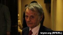 Лидер крымских татар Мустафа Джемилев.