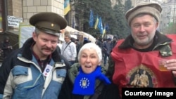 Татьяна Киршнер-Ретивова на Майдане