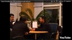 Кадр из распространенного нового видеоматериала, снятого скрытой камерой