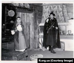 «Украдене щастя» Івана Франка, театр Франка, 1956 рік