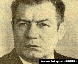 Геннадий Колбин, первый секретарь ЦК Компартии Казахской ССР. Фотокопия снимка из советской печати.