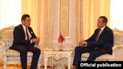 Турхан Дильмач с главой Чувашии Михаилом Игнатьевым