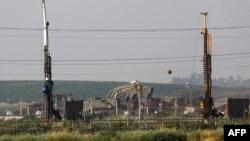 بخشی از حصار مرزی میان اسرائیل و غزه