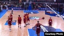 Архивска фотографија: Македонската кошаркарска репрезентација.