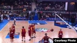 Македонската кошаркарска репрезентација