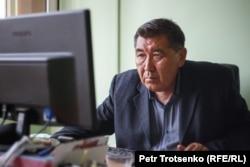 Ермурат Бапи, журналист, глава оппозиционного издания «Дат». Алматы, 15 июля 2020 года.