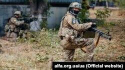Бійці Центру спеціальних операцій «А» Служби безпеки України