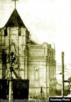 Костел до 1917 року