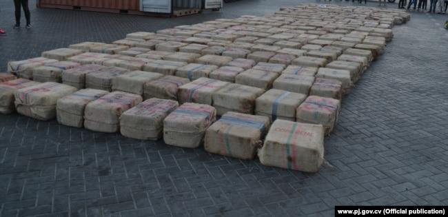 Кокаин, изъятый на судне Eser