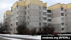Дом, у якім жыў жыхар Бабруйску, які падарваў сябе каля крамы.