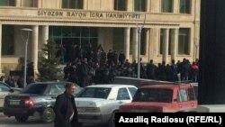 Акция протеста в Сиязане
