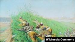 "В.Верещагин.""Кайгуулчулар"", 1871"