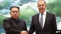 Sergei Lavrov rushed to North Korea after the Kim-Trump summit seemed set -- his first visit to Pyongyang in nearly a decade.