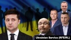 Колаж на тему місцевих виборів в Україні