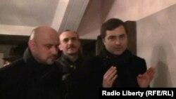Владислав Сурков после спектакля