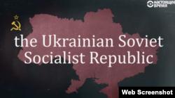 """Ukrayna SSR-nin qarşısında """"the"""" artikili ilə yazılıb"""