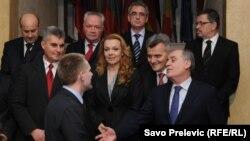 Nova crnogorska Vlada, na čelu sa Igorom Lukšićem, decembar 2010