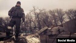 Бато Дамбаевтың Украинада түскен суреті.