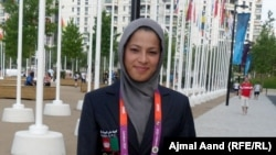 Kohestani is only the third Afghan woman to compete at the Olympic Games.