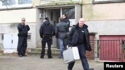 Poliția germană la Schwerin