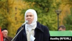 Фаузия Байрамова на Дне памяти в 2019 году