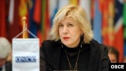 Представитель ОБСЕ по свободе слова Дуня Миятович.