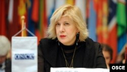 Austria -- OSCE Representative on Freedom of the Media Dunja Mijatović, at the Permanent Council in Vienna, January 16, 2014